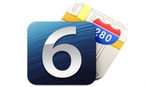 iOS 6 ja Maps -logot