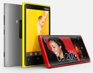 Lumia 920 eri väreissä