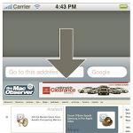 Ponnahdusvieritystoiminto iPhonessa