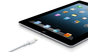 Applen neljännen sukupolven iPad Lightning-liittimellä