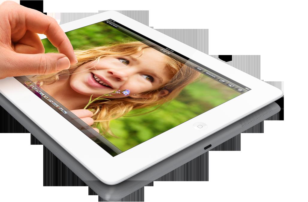 Applen nykyinen neljännen sukupolven iPad