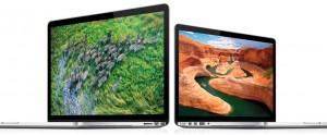 Apple MacBook Pro Retina-näytöllä, 15 ja 13 tuumaa