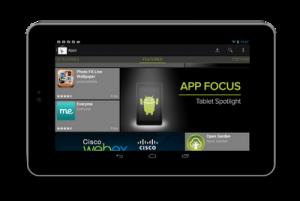 Google Playn tablettivalikoima