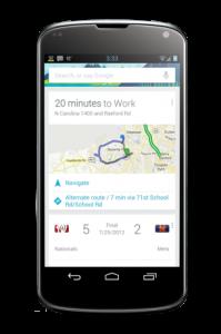 Carphone Warehousen Nexus 4:stä julkaisema kuva