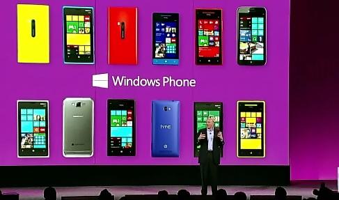 Windows Phonet esittelyssä.