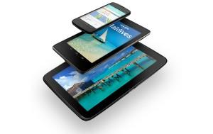 Nexus 4, Nexus 7 ja Nexus 10