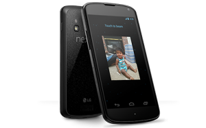 Nexus 4 ja Android Beam