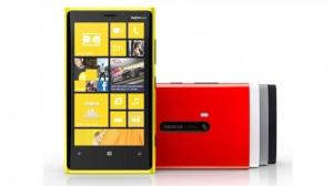 Nokia Lumia 920 eri väreissä