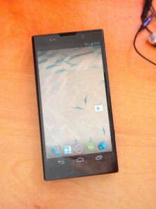 Väitetty Sony Nexus X edestä. Kuva ladattu Picasa-palveluun.