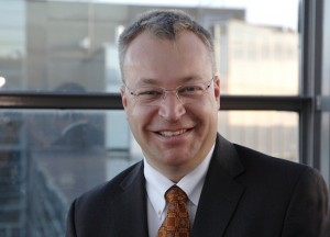 Entinen Nokia-johtaja Stephen Elop.