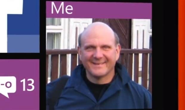 Steve Ballmerin Windows Phone