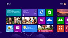 Windows 8:n Käynnistä-näkymä