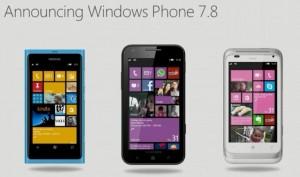 Windows Phone 7.8 -banneri