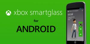 Xbox SmartGlass Androidille -banneri
