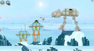 Kuvankaappaus Angry Birds Star Warsista