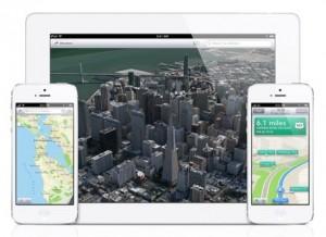 Applen kartat iPhonessa ja iPadissa