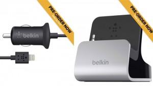 Belkinin ensimmäiset Lightning-lisälaitteet - autolaturi ja telakka