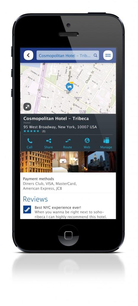 HERE Maps aiemmin iPhonessa
