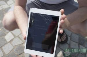 iPad mini pudotustestissä