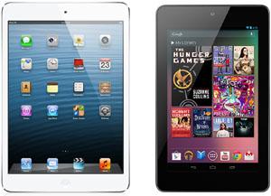 Apple iPad minin ja Nexus 7:n edellisen sukupolven mallit - edelleen kelpo laitteita?