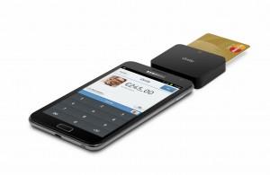 iZettle ja Samsung Galaxy Note