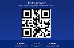 Kuvankaappaus Photobeamer-sivulta