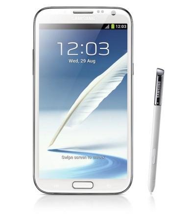 Samsung Galaxy Note II sekä S Pen -kynä