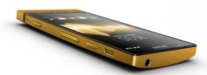 24 karaatin kullalla pinnoitettu Sony Xperia P