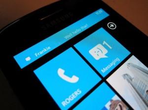 Ilmoitus Windows Phonessa