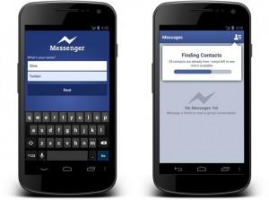 Facebook Messenger Androidilla - ei enää Facebookiin rekisteröitymispakkoa
