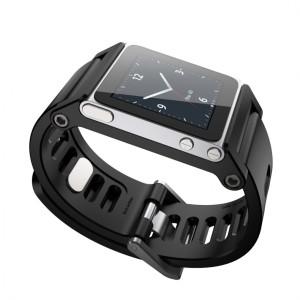 Applen edellisen sukupolven iPod nano ja ranneke - esimakua Apple-älyrannekellosta?