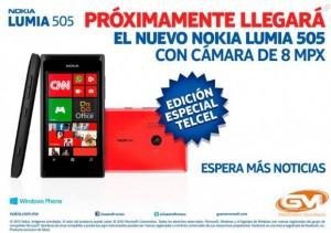 Nokia Lumia 505 julkaistussa tarjouksessa