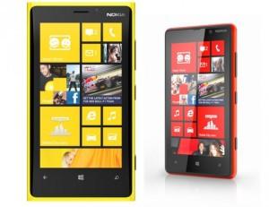 Nokia Lumia 920 ja Lumia 820
