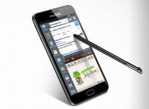 Samsung Galaxy Note ja S Pen -kynäke