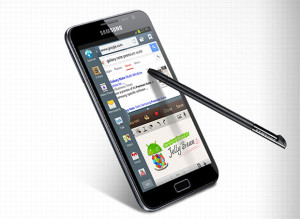 Samsung Galaxy Noten Premium Suite -päivitys
