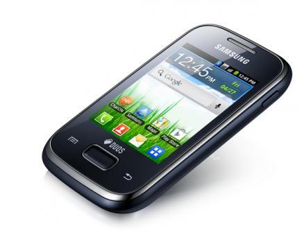 Samsung oli sekä älypuhelinten että koko puhelinmarkkinan kuningas vuonna 2012. Kuvassa Galaxy Pocket.
