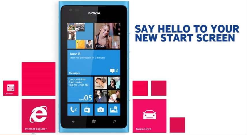 Nokia Lumia 800 Windows Phone 7.8:lla