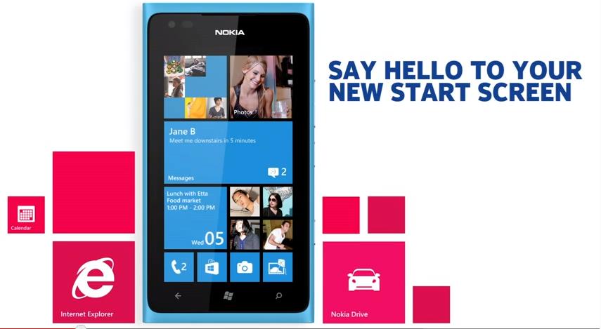 Nokia Lumia 800 Windows Phone 7.8:lla
