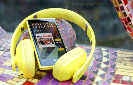 Nokia Music, Lumia ja kuulokkeet