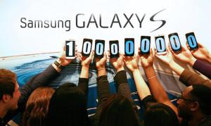 Samsung Galaxy S:n myynti 100 miljoonaa kappaletta