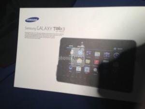 Samsung Galaxy Tab 3 PhoneArenan julkaisemassa kuvassa