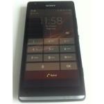 Sony Xperia SP, mallikoodiltaan C530x Xperia Blogin aiemmin julkaisemassa kuvassa edestä