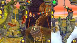 Kuvankaappauksia Temple Run 2 -pelistä