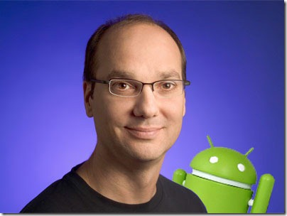 Andy Rubin tunnetaan Androidin perustajana.