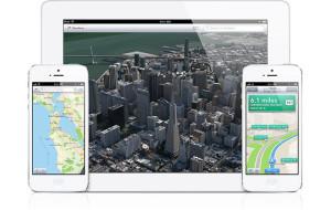 Apple iPhone 5 ja iPad ja Apple Maps