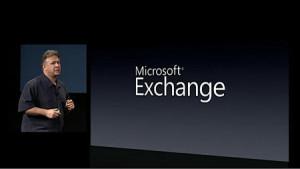 Applen laitteista on löytynyt Exchange-tuki