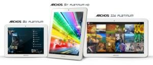 Archosin tabletteja: 80 Platinum, 97 Platinum sekä 116 Platnium