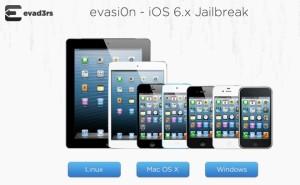 Evasi0nin jailbreak iOS-laitteille