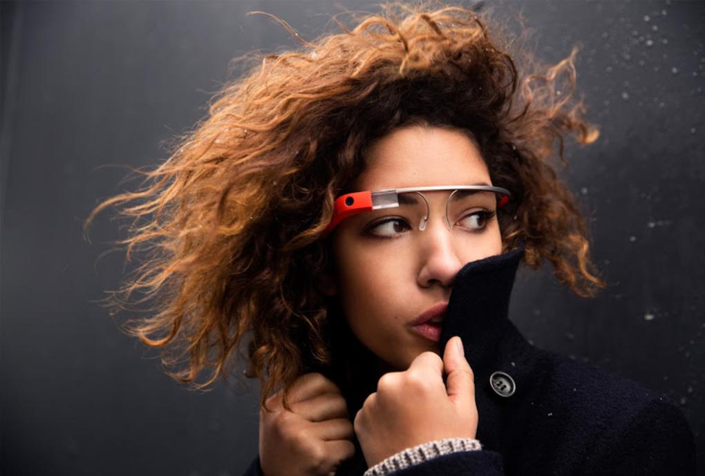 Google Glass oranssina