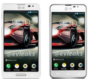 LG Optimus F7 (vasemmalla) ja F5